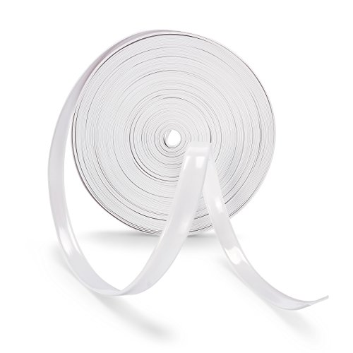 Camco 25262 Vinyl Trim Insert (3/4 x 100, White)