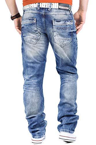 And Les Le Pour Sorties Temps Baxx Blau Cipo En Club Jeans Homme Libre q05gZ6a
