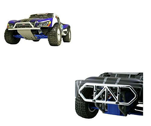 RPM Traxxas Slash 2WD Chrome Front & Rear Bumper Kit 80953 8