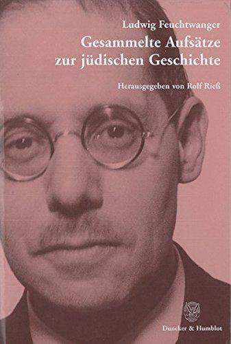 Gesammelte Aufsätze zur jüdischen Geschichte.: Hrsg. und mit einem Nachwort versehen von Rolf Rieß.