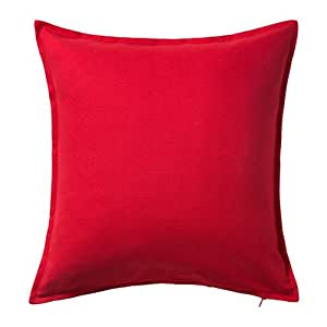 ikea gurli funda de coj n rojo 50x50 cm hogar. Black Bedroom Furniture Sets. Home Design Ideas