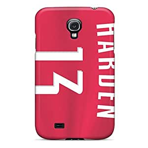 Fashionable CFP8236ilTE Galaxy S4 Cases Covers For Houston Rockets Protective Cases