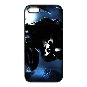 DC spiderman black Phone Case for Iphone 5s