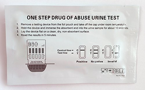 Price comparison product image 15 Pack of Instant Marijuana Test Kits,  99% Accuracy level,  Easy to use.