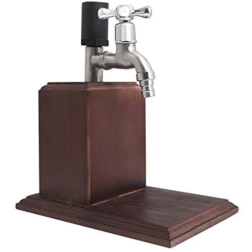 Refinery and Co. Drink Dispenser for Whiskey and Other Libations, Easy Dispensing Spout