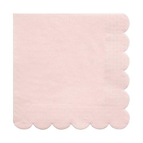 Meri Meri Pale Pink Large Napkins -