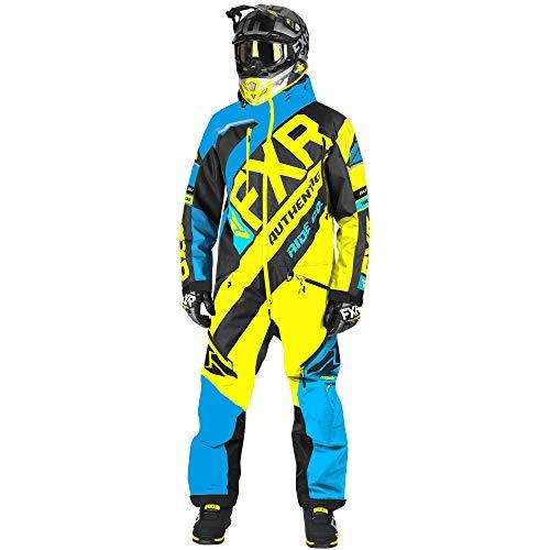 FXR CX Lite Monosuit - Blue/Black/Hi-Vis - XLG (Snowmobile Pants Fxr)