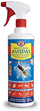 TANZIL 1L - Insecticida contra avispas y toda clase de insectos voladores y rastreros