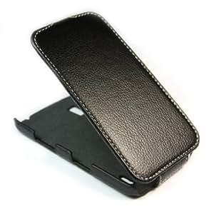 Cerhinu ivencase Litchi PU Leather Flip Skin Case Cover for LG Google Nexus 4 Smart Phone E960 Black + One phone sticker...