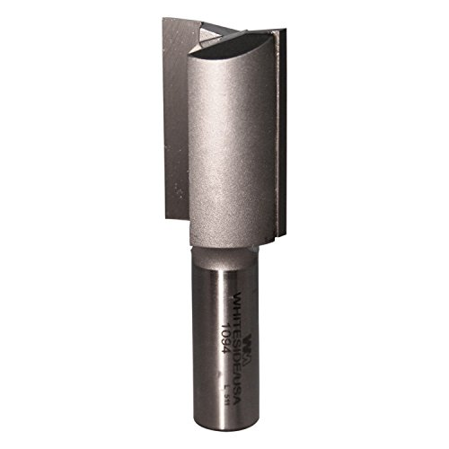 Whiteside Router Bits 1094 Straight Bit with 1-Inch Cutting Diameter and 1-1/2 -Inch Cutting Length