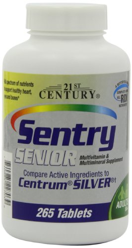 21st Century Sentry Senior, 265 Tablets (Pack of 2)