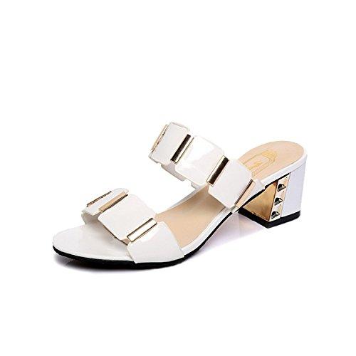 Usan Las par Blanco Mujeres de Zapatillas de un Cool Verano f5fqrC
