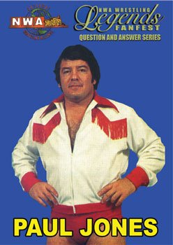 NWA Wrestling Legends Fanfest Q&A Series: Paul Jones - Carolina Series Legend
