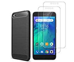 High quality material.  The back case is made of high quality TPU material. Ultra-thin, lightweight and impact-resistant.  The screen protector is 9H hardness, only 0.33mm thin, it is scratch resistant, oil repellent, dustproof, shatterproof ...