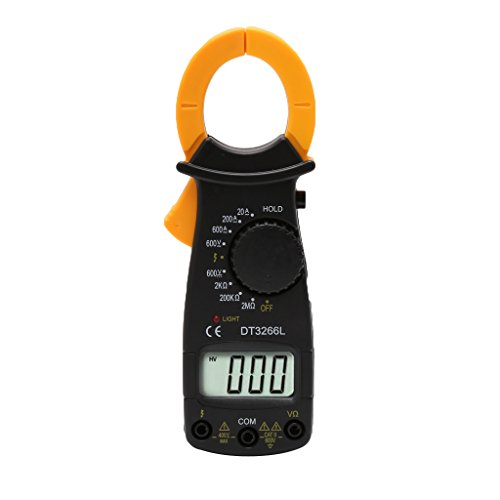YDZN DT3266L Digital Clamp Meter Multimeter Voltage Current Resistance Tester (400a Digital Clamp)
