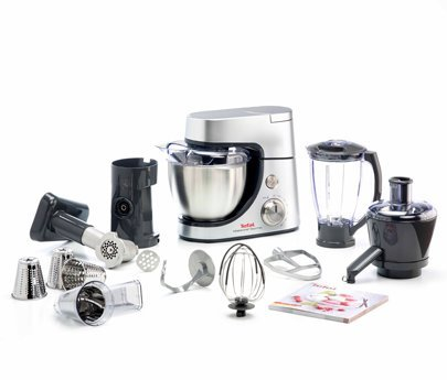 Tefal MasterChef Gourmet QB505D38 14 Cups Food Processor with Pulse Speed Function, Silver