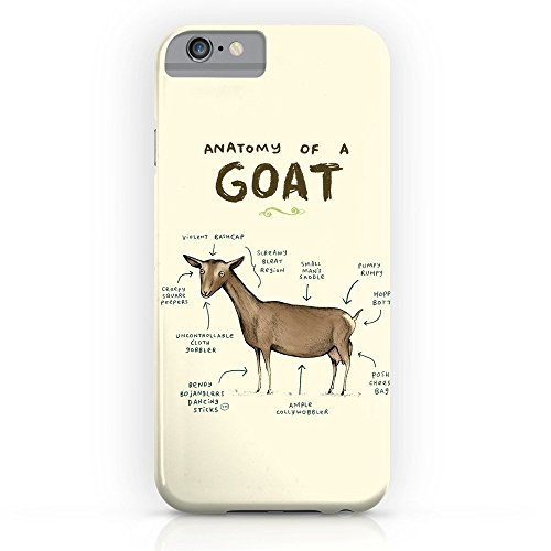 - Roses Garden Phone Case Protectivedesign Hard Back Case Anatomy Of A Goat Slim Case iPhone 7