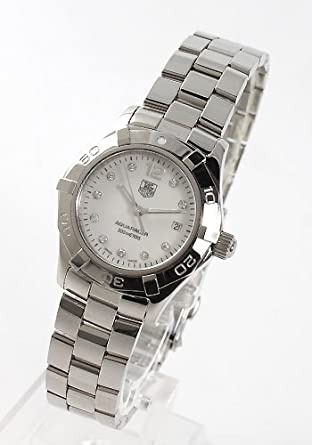 e760a022c84 Image Unavailable. Image not available for. Color  Tag Heuer Aquaracer  Diamond MOP Ladies ...