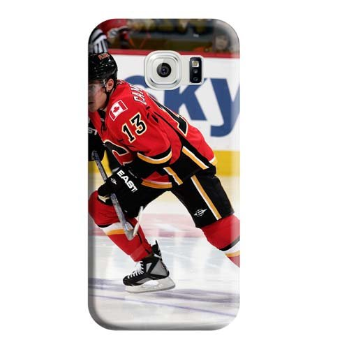 fan products of Calgary Flames Cell Phone Carrying Shells Snap-on Excellent Fitted Protective Beautiful Cases Samsung Galaxy S6 Edge Plus+