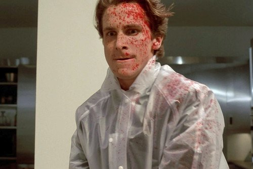 Image result for american psycho poncho
