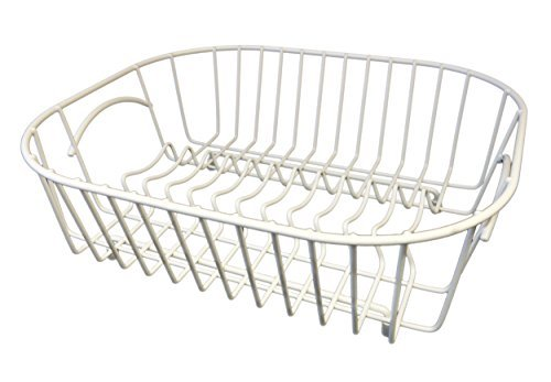Delfinware Plate Sink Basket, White by Delfinware by Delfinware