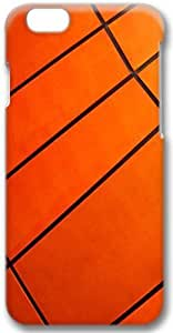 Orange Apple iPhone 6 Plus Case, 2D iPhone 6 Plus 5.5 inch Cases Hard Shell Cover Skin Casess