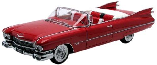 1/18 キャデラック コンバーチブル シリーズ62 1959 (レッド) 70401