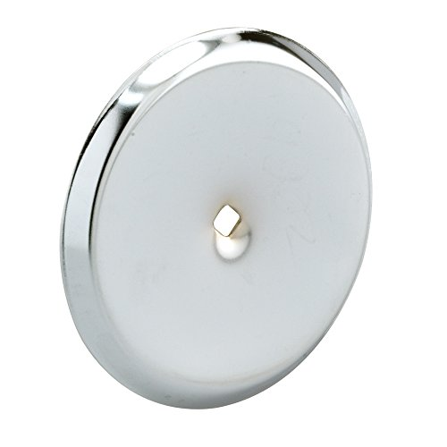 Prime-Line Products U 9202 Cabinet Knob Back Plate, Chrome,(Pack of 2)