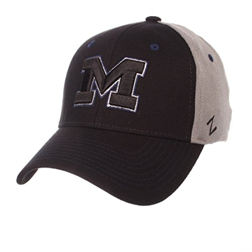 - ZHATS NCAA Michigan Wolverines Men's Duo Hat, X-Large, Black/Gray