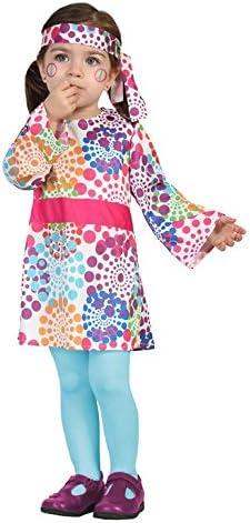 Atosa-24429 Disfraz Hippie, color rosa, 6 a 12 meses (24429 ...