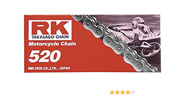 RK Racing Chain M520-108 108-Links Standard Chain