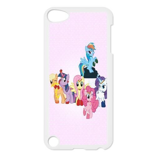 Durable Rubber Cases Ipod Touch 5 Cell Phone Case White Ftjos My Little Pony Protection Cover