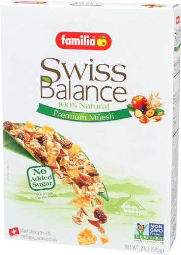 Familia Swiss Balance Muesli Cereal, No Added Sugar, 21-Ounce Box (Pack of 6) by Familia (Image #7)