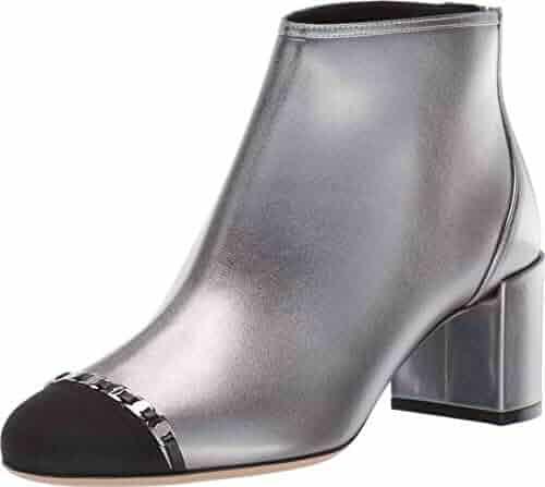 FSJ Platform High Heels Holographic Shoes in Silver for Big