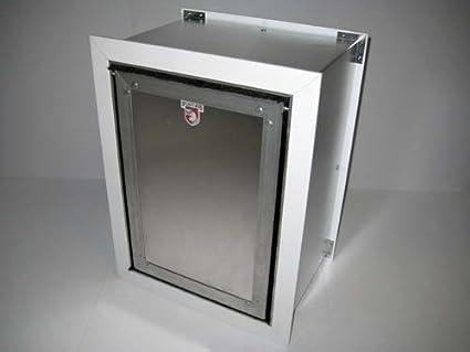 Image Unavailable & Amazon.com : Security Boss SB72 Wall Mount Pet Door : Pet Supplies