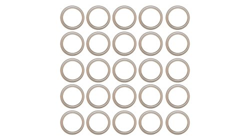 Sterling Seal OR70CLRURE009X25 009 O-Ring, Urethane, 70 Durometer Hardness (Pack of 25)
