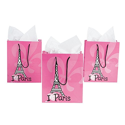 Pink Love Paris Gift Bags