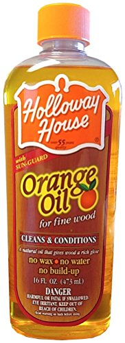 Holloway House Pure Orange Oil For Fine Wood, 16 Ounce Bottle by Holloway House