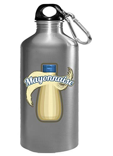 Mayonnaise Condiment Easy Trio halloween Costume Tshirt - Water Bottle -