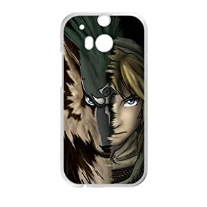 Magical wolf and man Cell Phone Case for HTC One M8