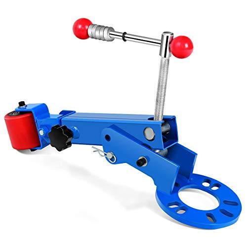 Goplus Fender Roller Reforming Extending Tool Heavy Duty Wheel Arch Roller Flaring Former (Blue) ()