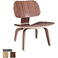 2xhome - Walnut - Brown Wood - 15.25 Seat Height Eames Plywood Lounge Chair Eames Chair Plywood Low Lounge Chair For Living Room Wood Chairs Accent Chairs…