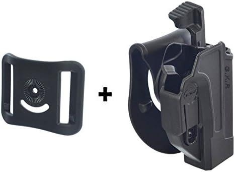 Orpaz - Funda de protección táctica para Pistola Glock 17/19/22/23/25/26/27/31/32/34/35
