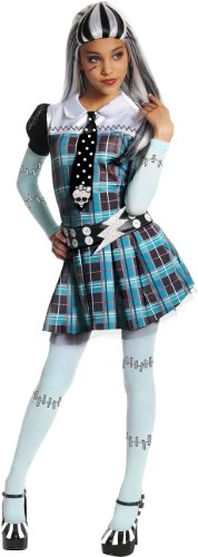 Monster High Frankie Stein Costume - One Color - Large (Teenage Halloween Dress Up Games)