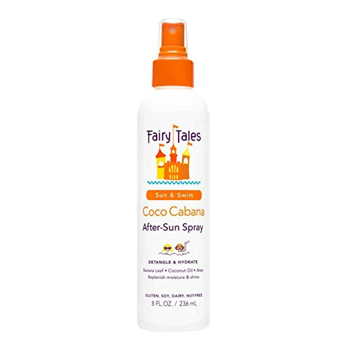 Fairy Tales Sun & Swim Coco Cabana After-Sun Spray for Kids - 8 oz (Best Shampoo For Sun Protection)