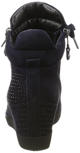 Kennel En Schmenger Vrouwen Soho Hoge Sneaker Blauw (oceaan / Zwarte Zool Zwart)