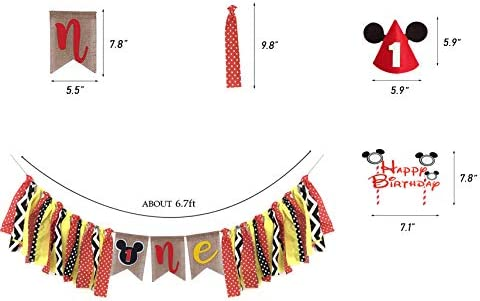 Amazon.com: Mickey Mouse - Kit de decoración de primer ...