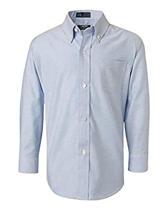 French toast little boys long sleeve oxford for French blue oxford shirt