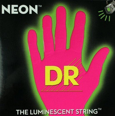 DR Handmade Strings NYE7-11 K3 Neon Hi-Def Electric Guitar S