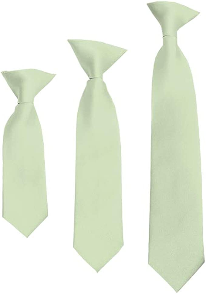 Dockers Big Boys Fashion Dot Clip On Tie